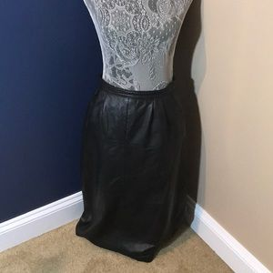 Dresses & Skirts - Vintage leather skirt